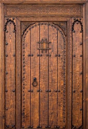 fotos de puertas rusticas de madera