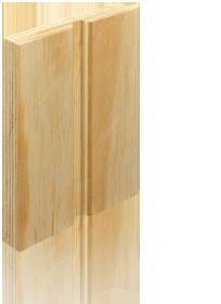 Tablero contrachapado pino ranurado comercial andrade de maderas - Tablero contrachapado ...
